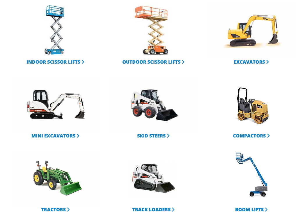 rent building equipment